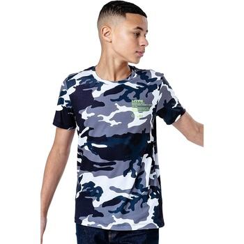 Vêtements Enfant T-shirts & Polos Hype  Gris/multicolore