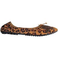Chaussures Femme Ballerines / babies Suredelle BAL20 LEOPARD CAMEL