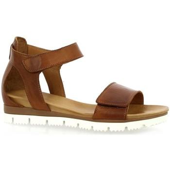 Chaussures Femme Sandales et Nu-pieds Creator Creat Nu pieds cuir Cognac