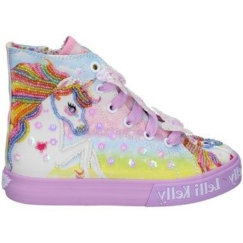 Chaussures Fille Baskets montantes Lelli Kelly LK 9090 LILAS
