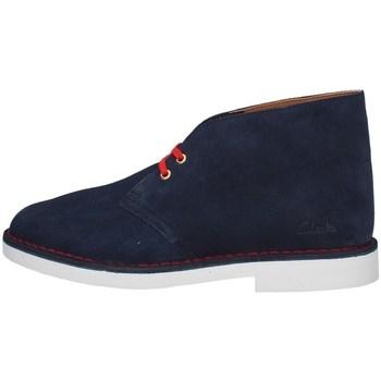 Chaussures Homme Boots Clarks DESERT BOOT2 MARINE