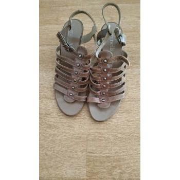 Chaussures Femme Escarpins Minelli Escarpins taupe Minelli T37 Marron