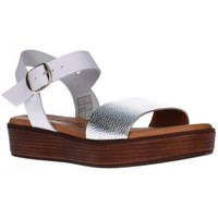 Chaussures Femme H-502 Mujer Negro Patricia Miller 42500 plata/blanco Mujer Plata Argenté