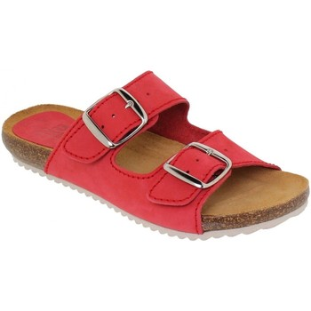 Chaussures Femme Mules Blusandal  Rouge