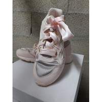 Chaussures Femme Baskets basses Puma Basket Puma rose grise Rose
