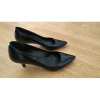 Chaussures Femme Escarpins The Seller Escarpins cuir italien noir T37 Noir
