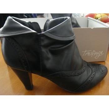 Chaussures Femme Bottines Autre Bottines noires T37 Noir