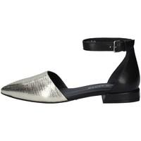 Chaussures Femme Ballerines / babies Elvio Zanon EN1803 PLATINE