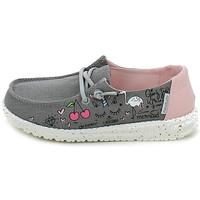 Chaussures Fille Mocassins Hey Dude WENDYYOUTH.28_29 Gris