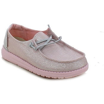 Chaussures Fille Mocassins Hey Dude WENDYYOUTH.14_29 Rose