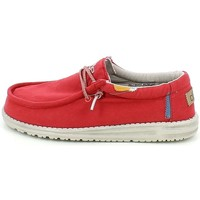 Chaussures Homme Mocassins Hey Dude WALLYWASHEDE21.11_42 Rouge