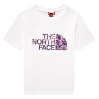 Vêtements Fille T-shirts manches courtes The North Face EASY BOY TEE Blanc