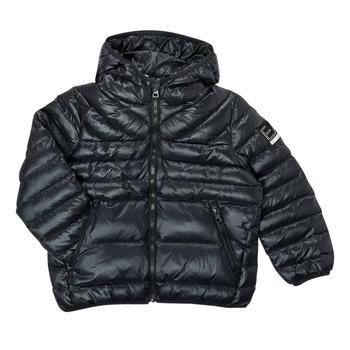 Vêtements Garçon Doudounes Emporio Armani EA7 FHALIA Noir