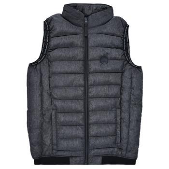 Vêtements Garçon Doudounes Deeluxe MAC Noir