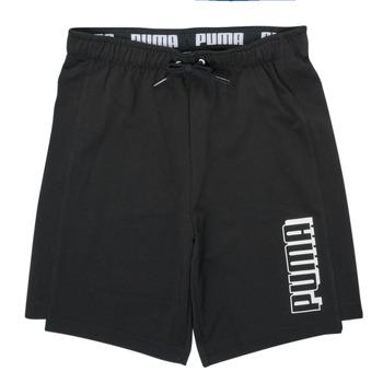 Vêtements Garçon Shorts / Bermudas Puma ALPHA SHORT Noir
