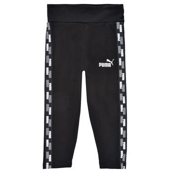Vêtements Fille Leggings Puma GIRL TAPE LEGGING Noir