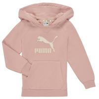 Vêtements Fille Sweats Puma T4C HOODIE Rose