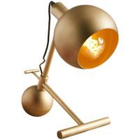 Maison & Déco Lampes à poser Retro Lampe de table AKINA en métal Or Doré