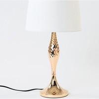 Maison & Déco Lampes à poser Retro Lampe de table AREU en métal doré Doré