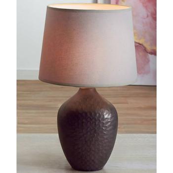 Maison & Déco Lampes à poser Retro Lampe de table Odina - Marron et Beige Marron