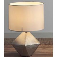 Maison & Déco Lampes à poser Retro Lampe de table ZENDA argentée Argenté