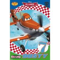 Maison & Déco Enfant Affiches, posters Disney Affiche Dusty Plane - Disney 61 x 91.5 cm Bleu