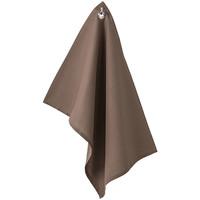 Maison & Déco Nappe Retro Essuie mains en coton couleur Bronze 50 x 70 cm Marron
