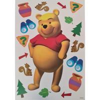Maison & Déco Enfant Stickers Disney Sticker Deco Winnie Jaune