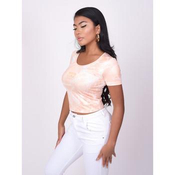 Vêtements Femme T-shirts manches courtes Project X Paris Tee Shirt Orange