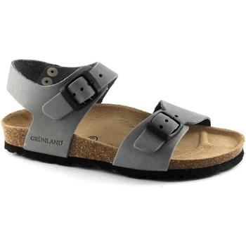 Chaussures Enfant Sandales et Nu-pieds Grunland GRU-RRR-SB0205-PI Grigio