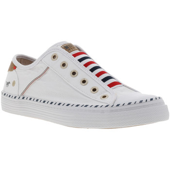 Chaussures Femme Slip ons Mustang 1376-401 Blanc