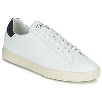 Chaussures Baskets basses Clae BRADLEY VEGAN Blanc / Bleu
