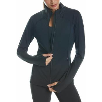 Vêtements Femme Vestes de survêtement Selmark Veste de sport zippée manches longues Tech ST2 noir Noir