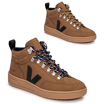Chaussures Baskets montantes Veja RORAIMA Camel / Noir