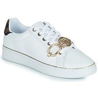 Chaussures Femme Baskets basses Guess BABE Blanc