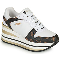 Chaussures Femme Baskets basses Guess HEKTOR Blanc