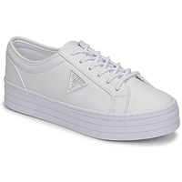 Chaussures Femme Baskets basses Guess BHANIA Blanc