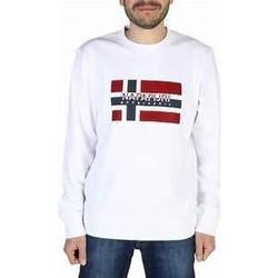 Vêtements Homme Sweats Napapijri Sweat  Homme  Bovico blanc