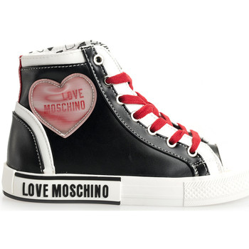 Chaussures Femme Baskets montantes Love Moschino  Noir