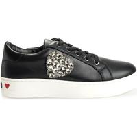 Chaussures Femme Baskets basses Love Moschino  Noir