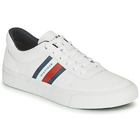 Chaussures Homme Baskets basses Tommy Hilfiger CORE CORPORATE STRIPES VULC Blanc