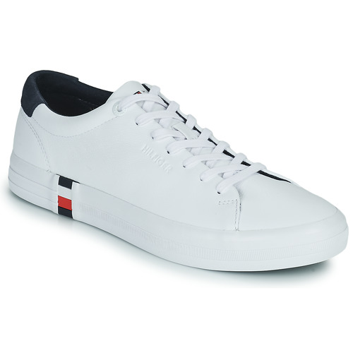 Chaussures Homme Baskets basses Tommy Hilfiger PREMIUM CORPORATE VULC SNEAKER Blanc
