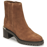 Chaussures Femme Boots Tommy Hilfiger TH OUTDOOR MID HEEL BOOT Cognac