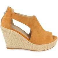 Chaussures Femme Sandales et Nu-pieds Tephani AB-210 Camel