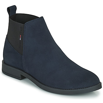 Chaussures Femme Boots Tommy Jeans ESSENTIALS CHELSEA BOOT Marine