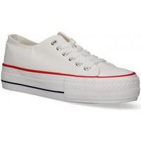 Chaussures Femme Baskets basses Luna Collection 55260 blanc