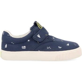 Chaussures Enfant Baskets basses Gioseppo SNEAKERS EN VELCRO ENFANT  MYERS 59606 Bleu