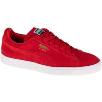 Chaussures Baskets basses Puma Suede Classic Rouge