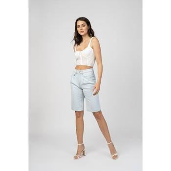 Vêtements Shorts / Bermudas Toxik3 Bermuda - Jim Bleu jean clair