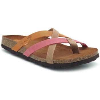 Chaussures Femme Claquettes Interbios 7113 Orange